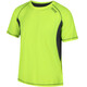 Regatta Volito III T-Shirt Men Fluro Yellow/Seal Grey
